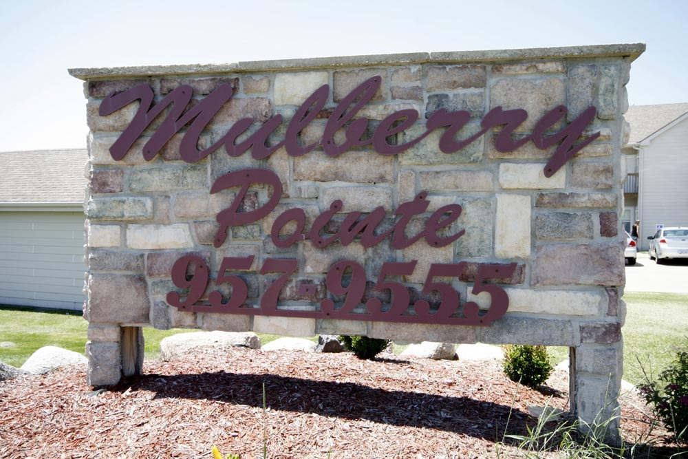 mulberry point sign
