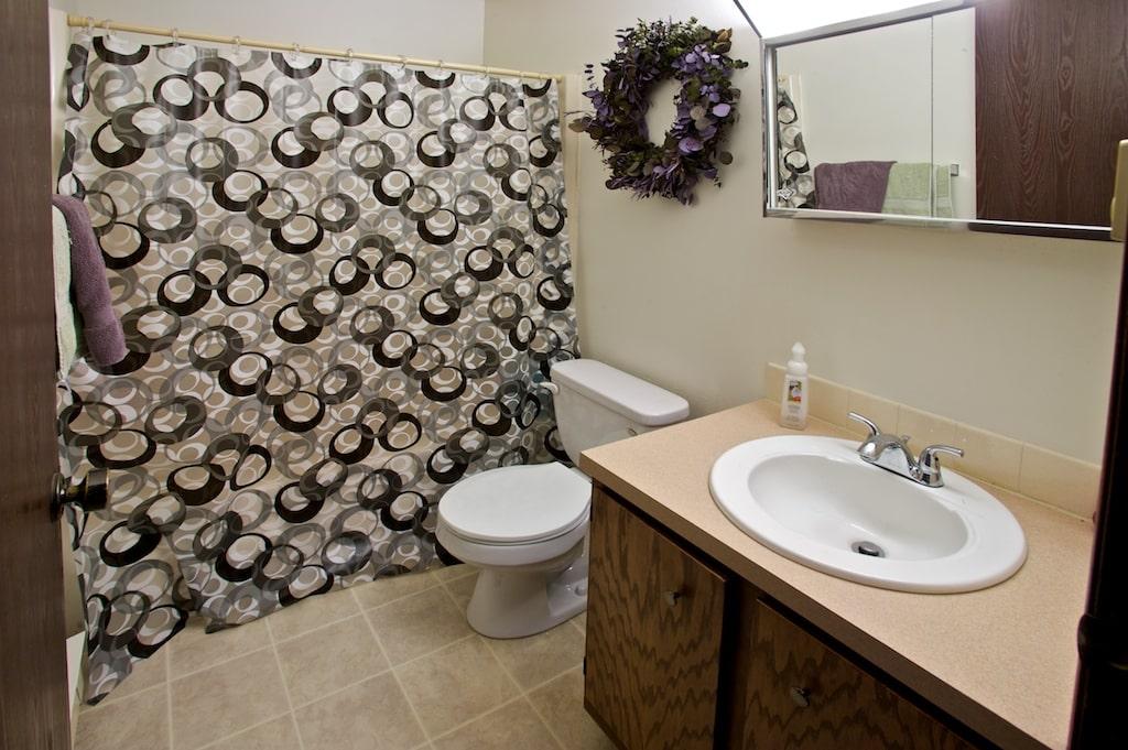 Norwalk Typical restroom